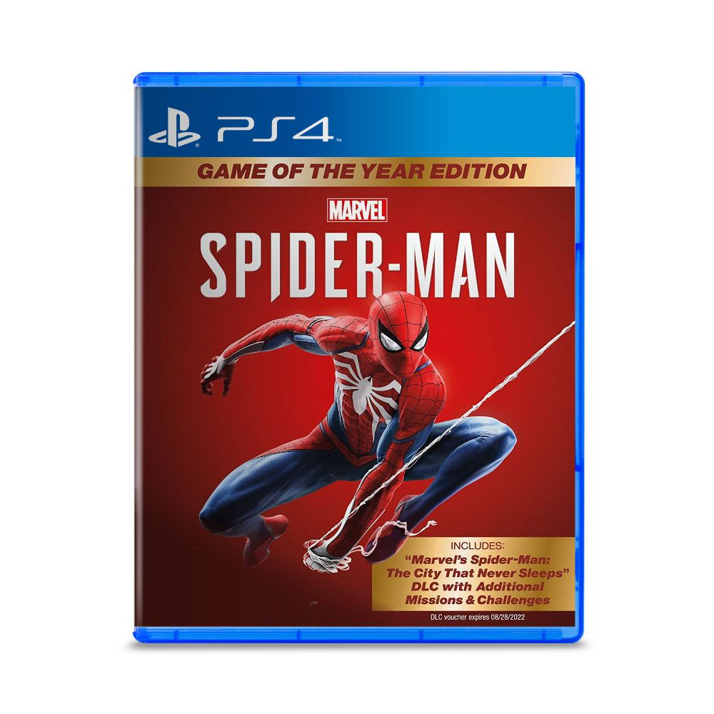 Jogo Marvel Spider Man - Game of The Year Edition - PS4