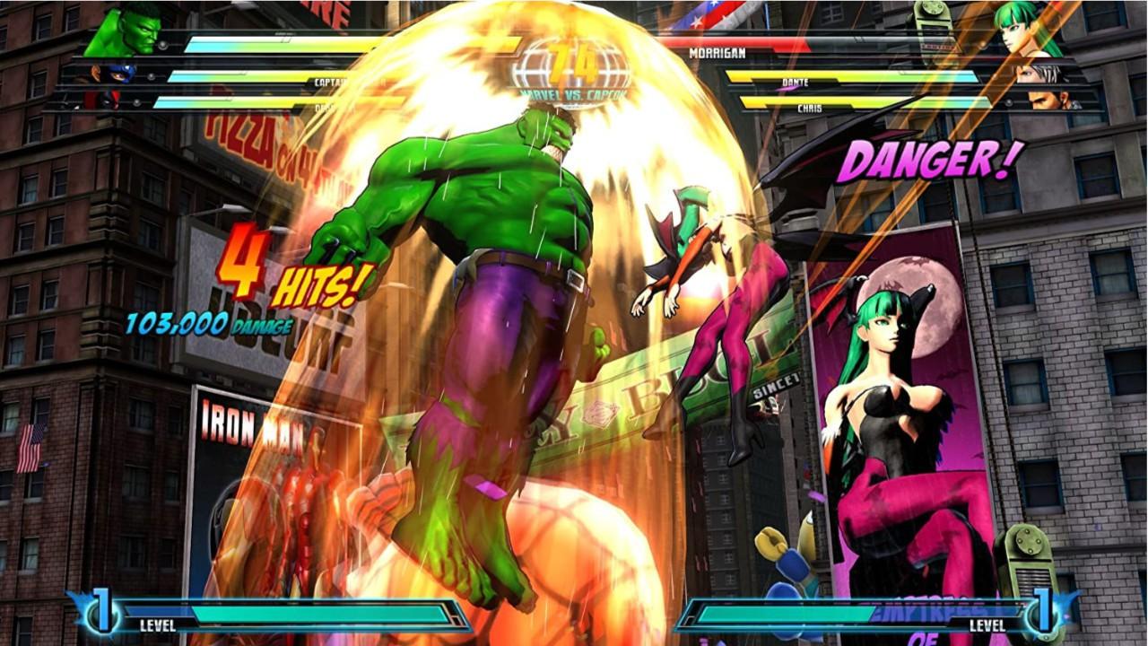 Jogo Marvel VS Capcom 3: Fate of Two Worlds - Xbox 360