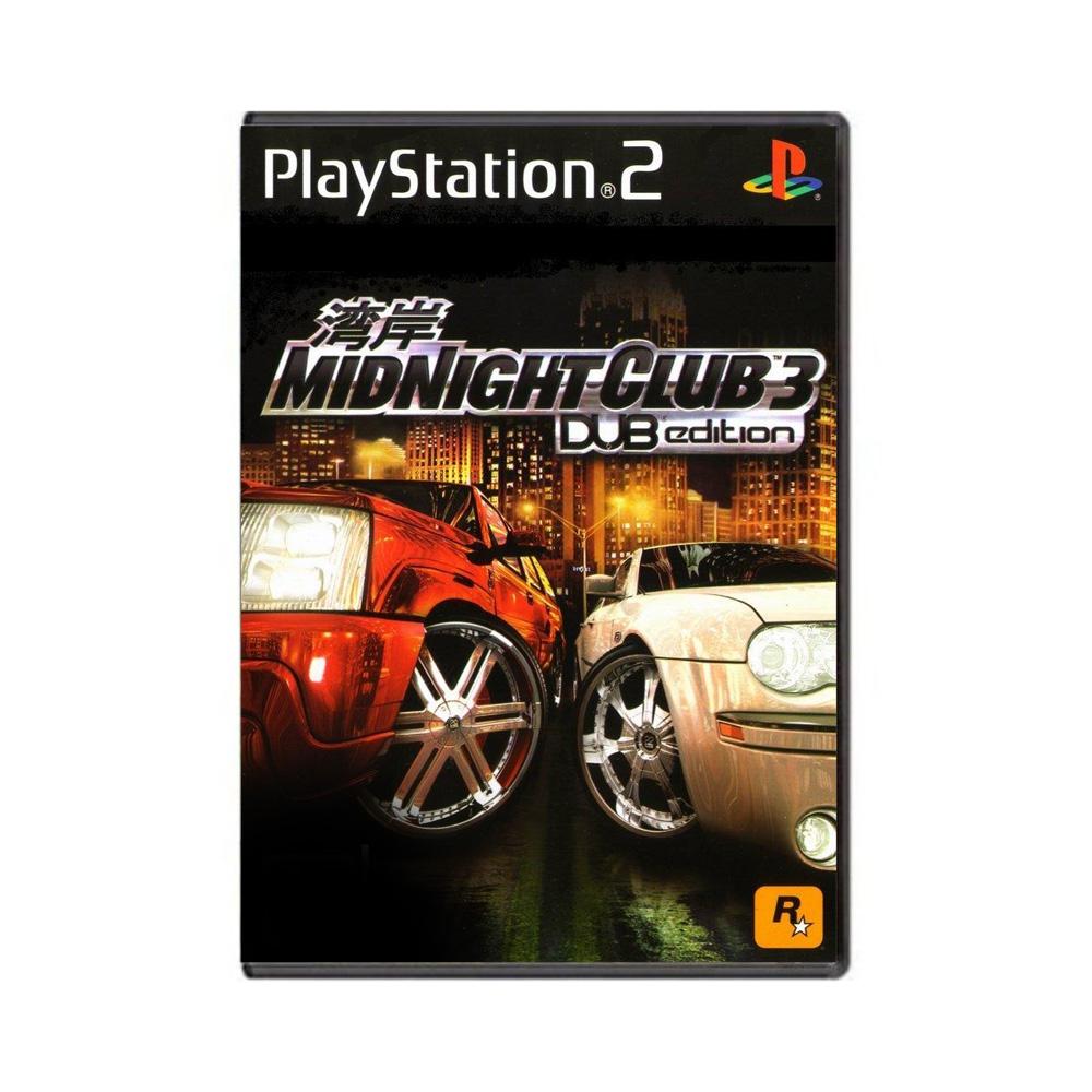 Jogo Midnight Club 3 Dub Edition - PS2