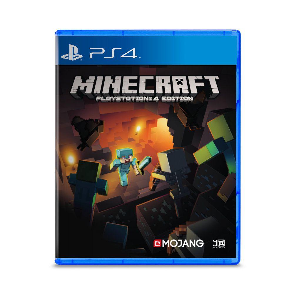 Jogo Minecraft Playstation 4 Edition - PS4