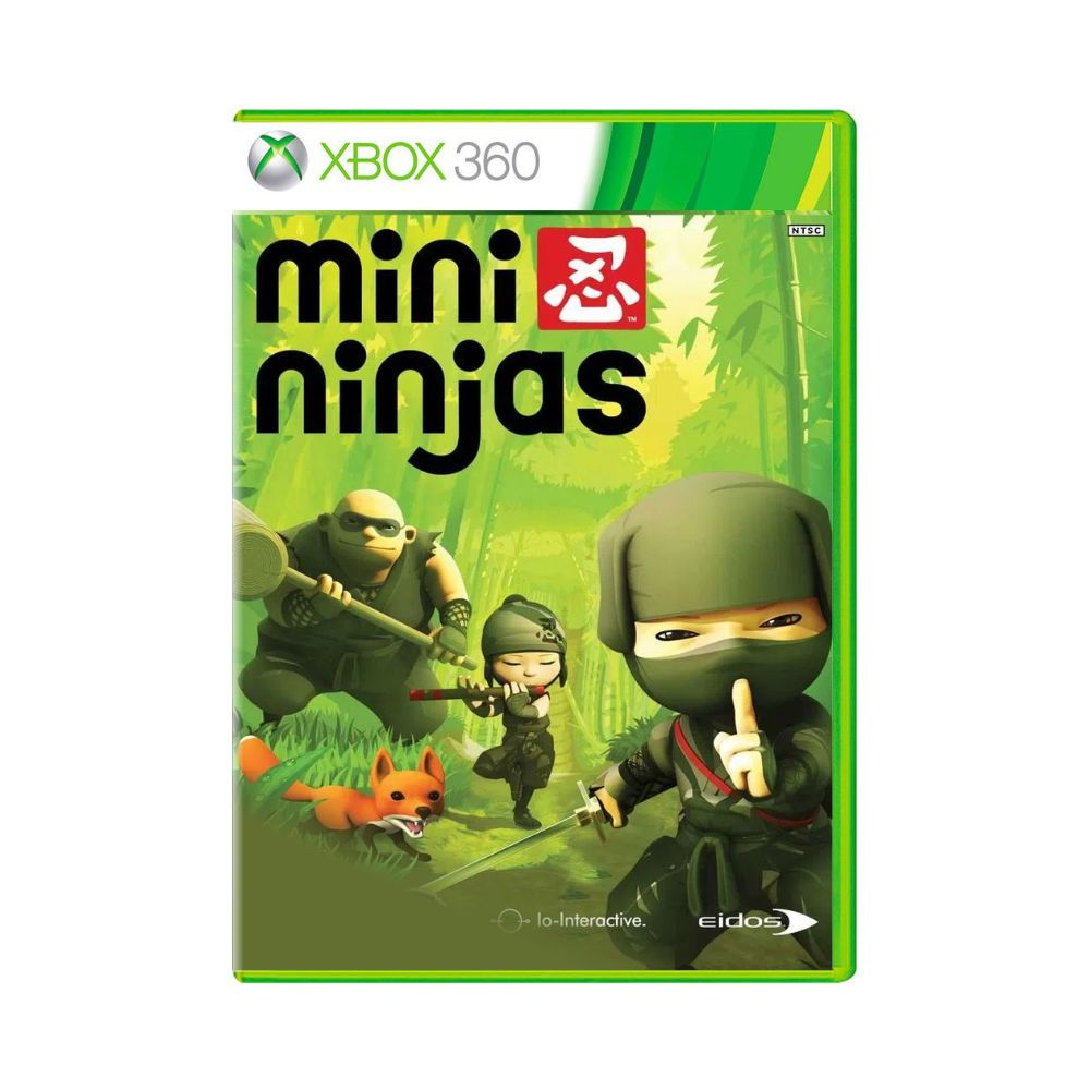 Jogo Mini Ninjas - Xbox 360