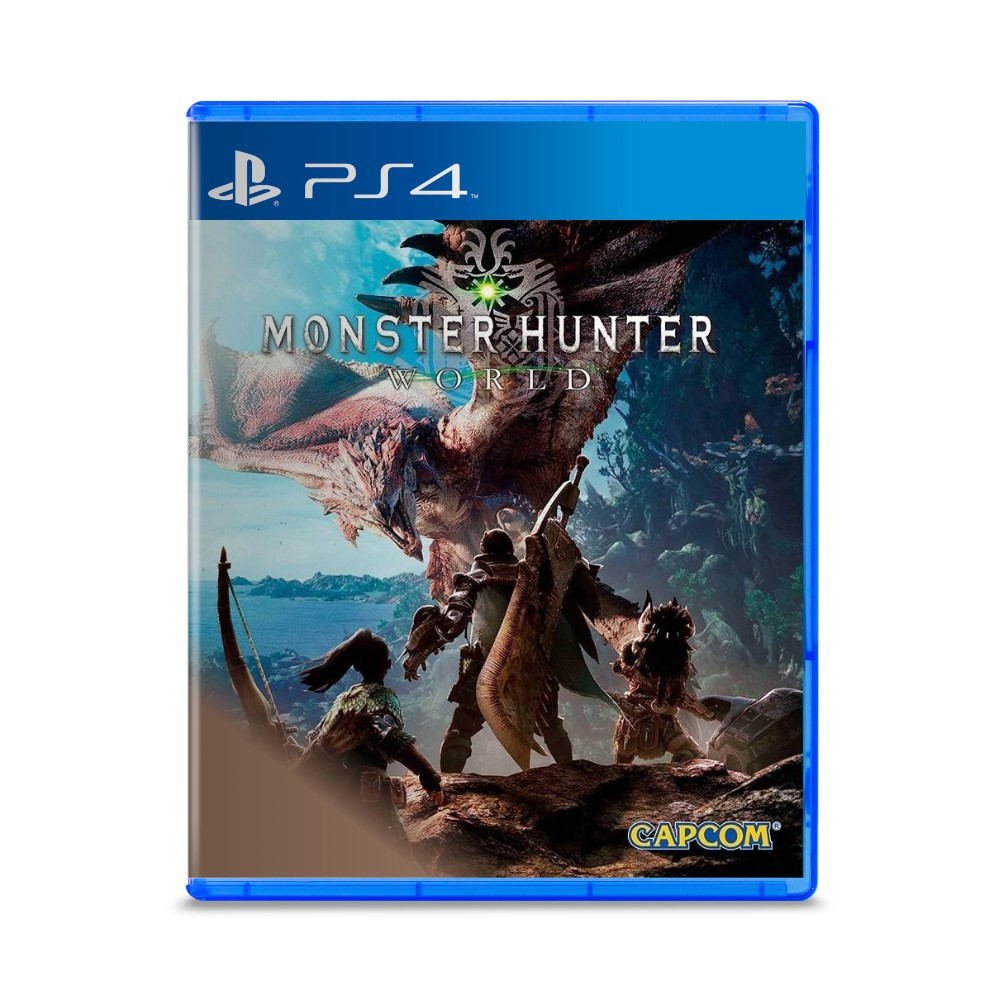 Jogo Monster Hunter World - PS4