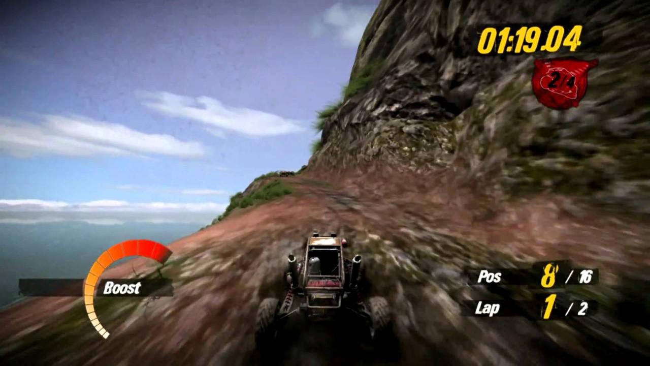 Jogo MotorStorm Pacific Rift - PS3