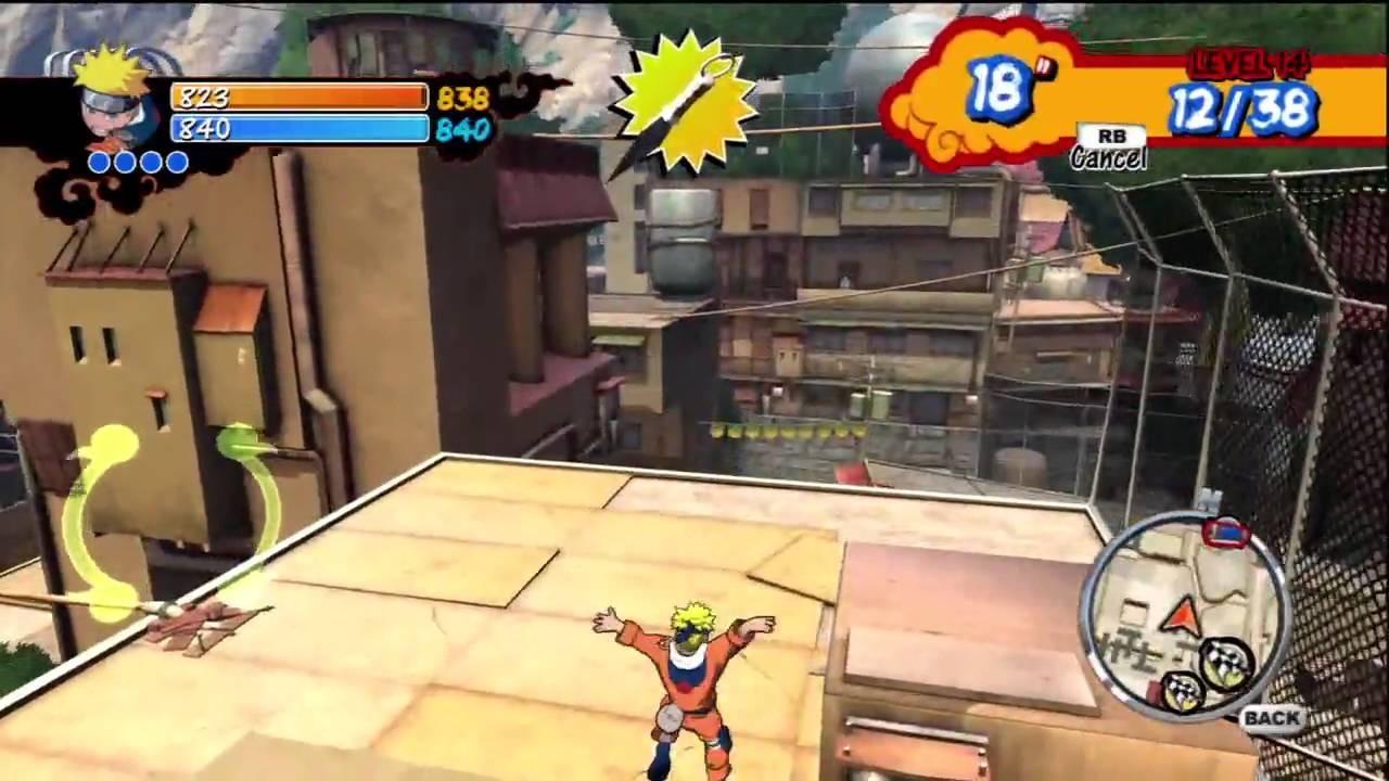 Jogo Naruto Rise of Ninja - Xbox 360