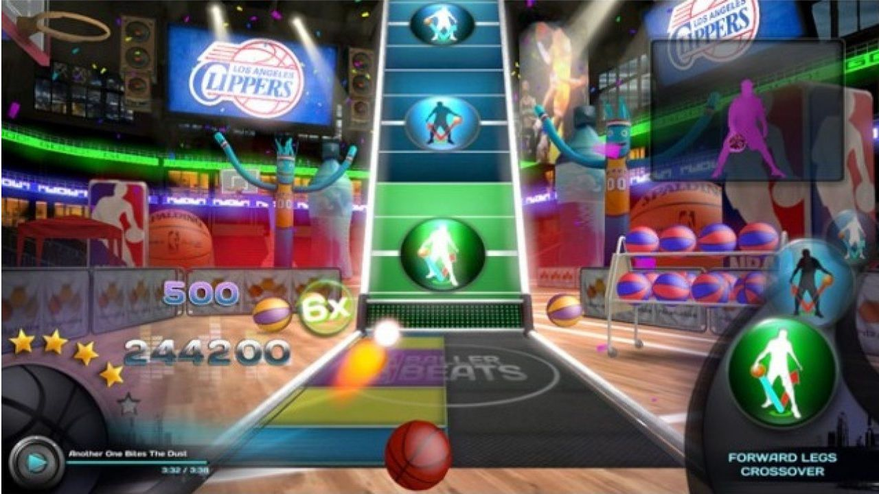 Jogo Kinect NBA Baller Beats - Xbox 360