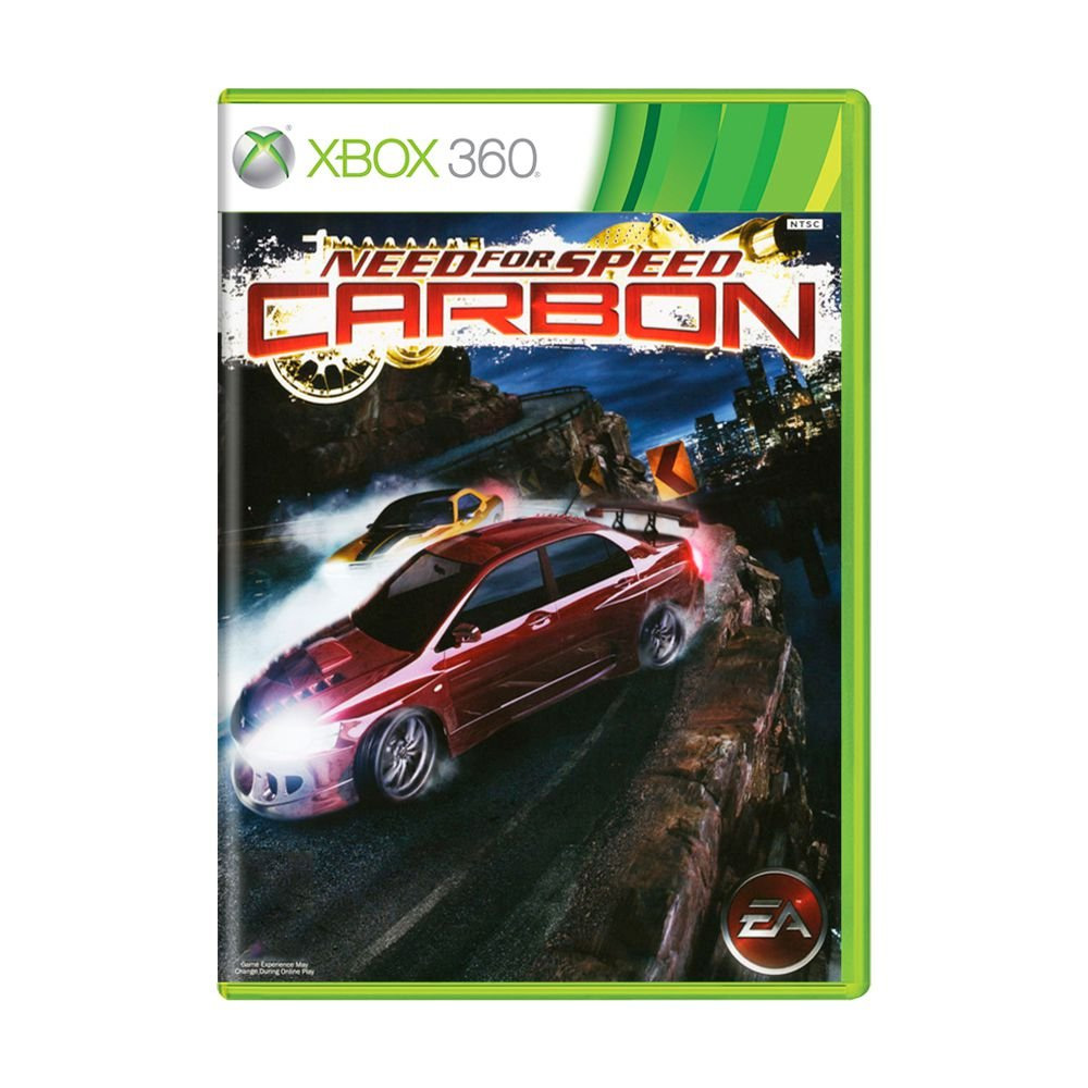 Jogo Need For Speed Carbon - Xbox 360