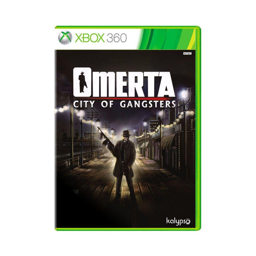 Jogo Omerta - City of Gangsters - Xbox 360