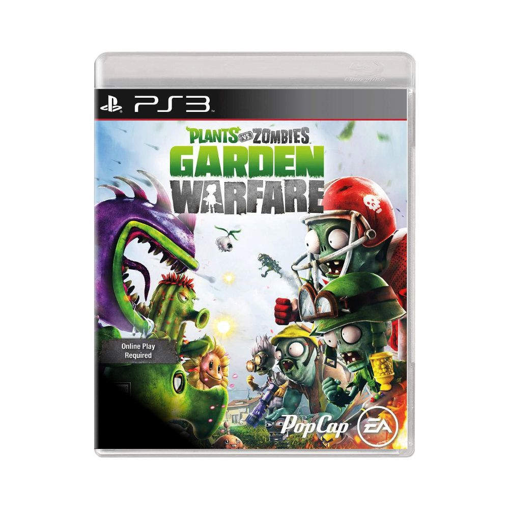 Jogo Plants Vs Zombies Garden Warfare - PS3