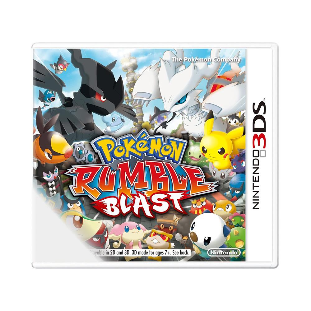 Jogo Pokémon: Rumble Blast - Nintendo 3DS