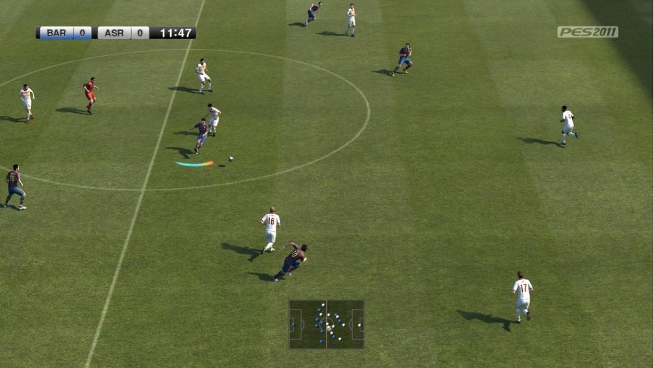 Jogo Pro Evolution Soccer PES 2011 - Xbox 360