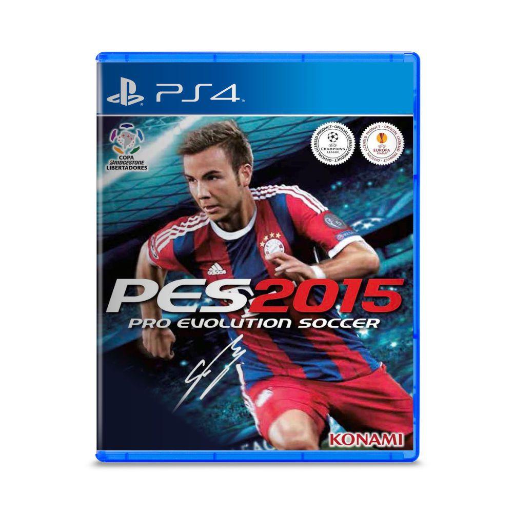 Jogo Pro Evolution Soccer PES 2015 - PS4