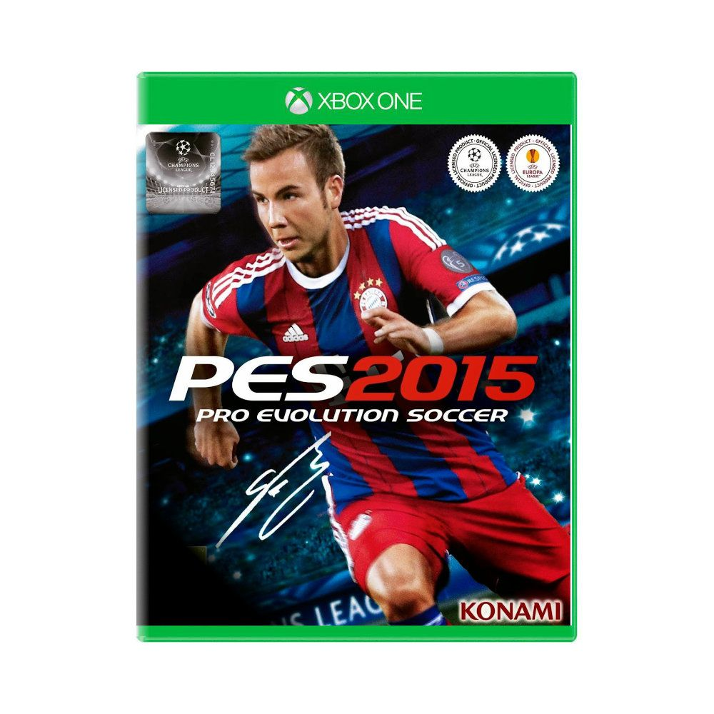 Jogo Pro Evolution Soccer PES 2015 - Xbox One