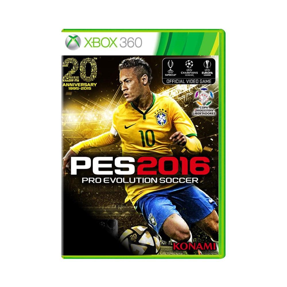 Jogo Pro Evolution Soccer PES 2016 - Xbox 360