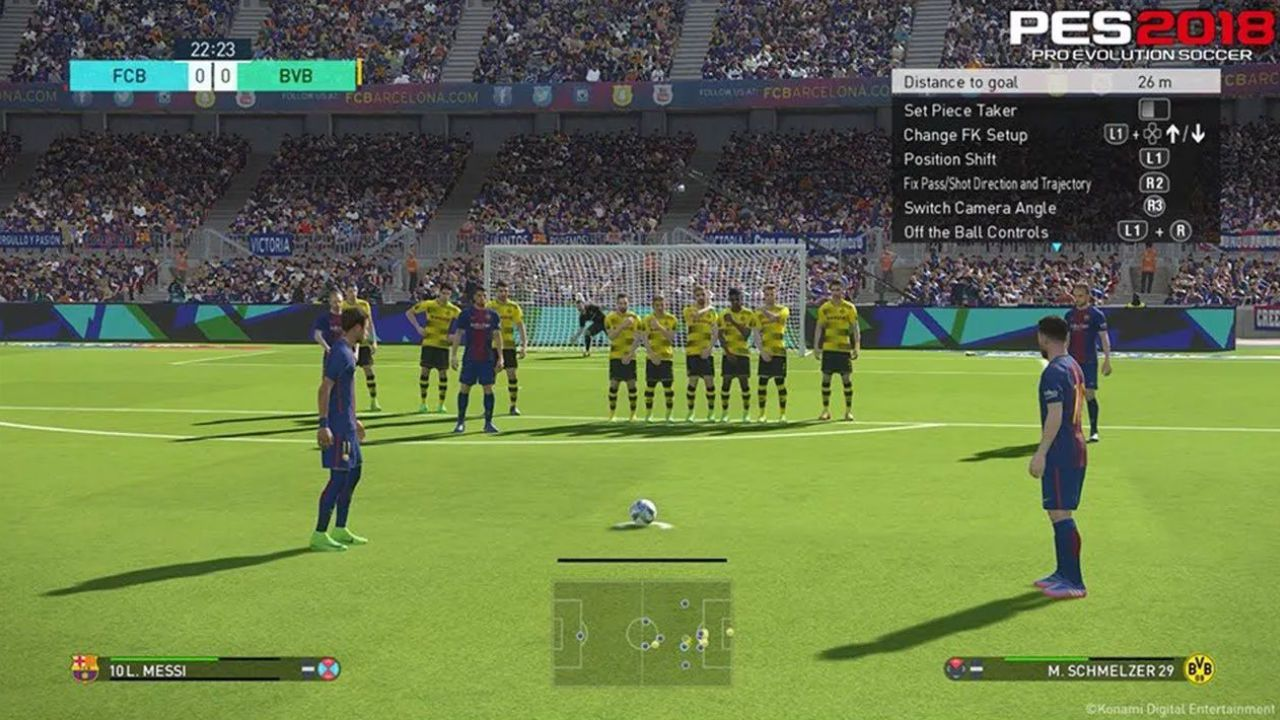 Jogo Pro Evolution Soccer PES 2018 - Xbox 360