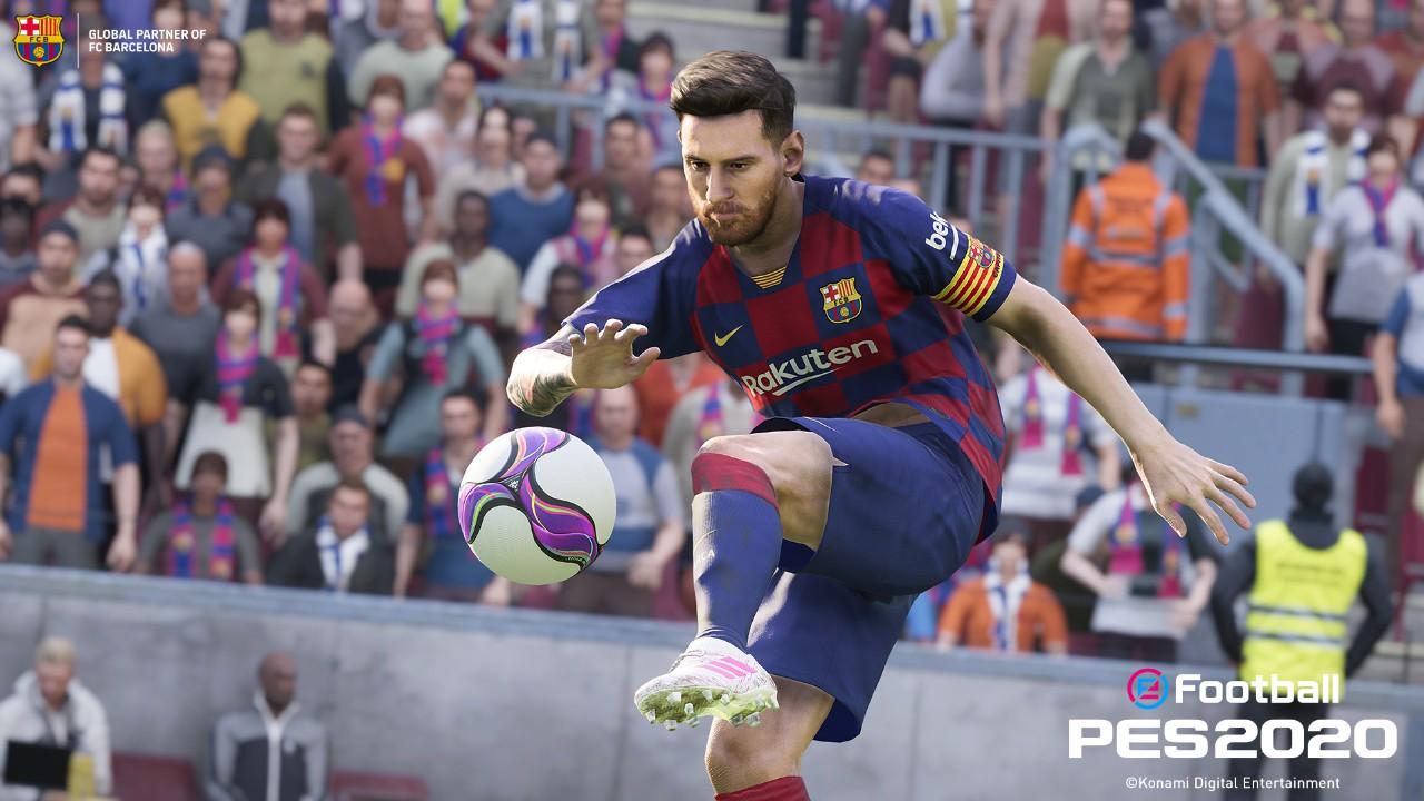 Jogo Pro Evolution Soccer PES 2020 - PS4