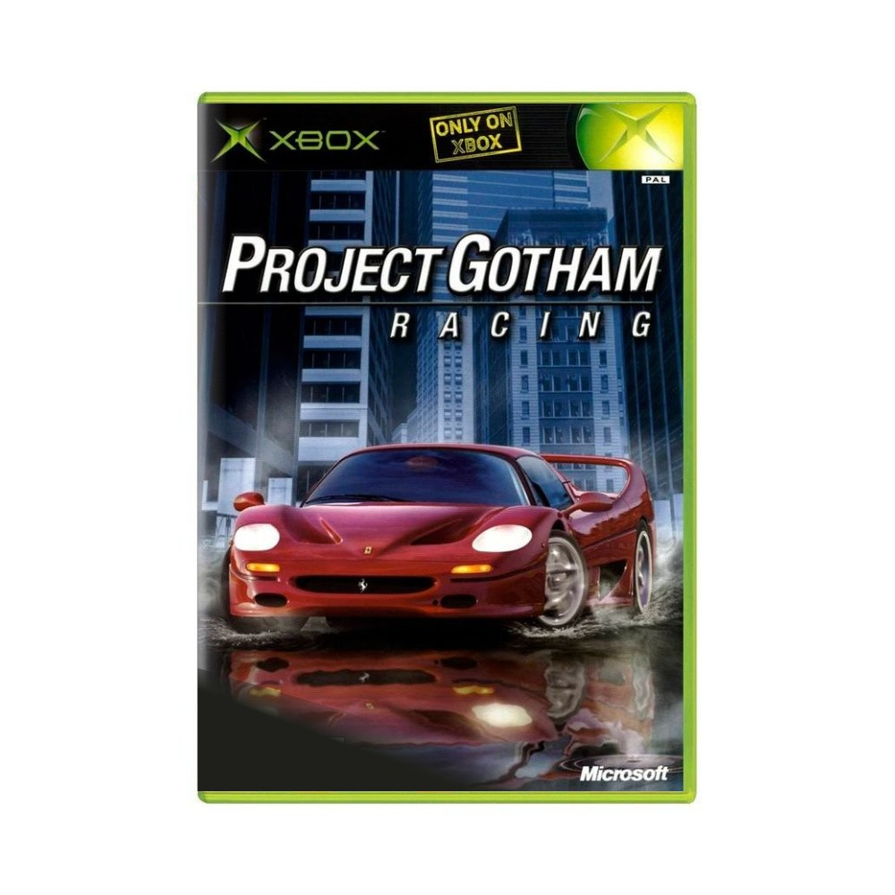 Jogo Project Gotham Racing - Xbox Clássico