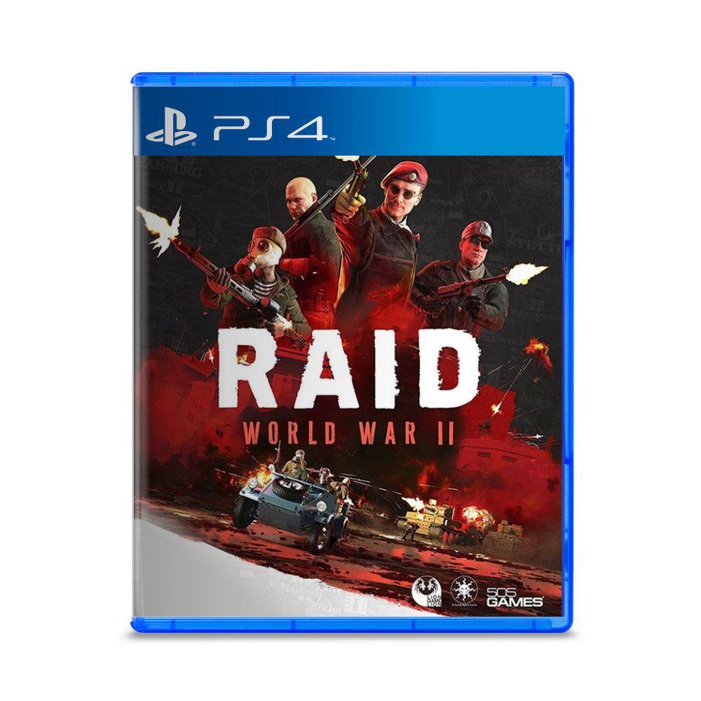 Jogo RAID World War 2 - PS4