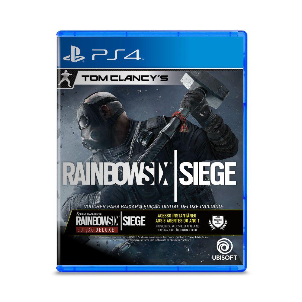 Jogo Rainbow Six Siege Edição Deluxe - PS4