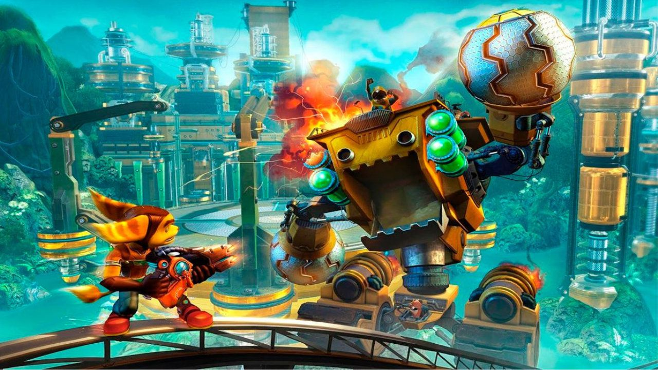 Jogo Ratchet and Clank - PS4
