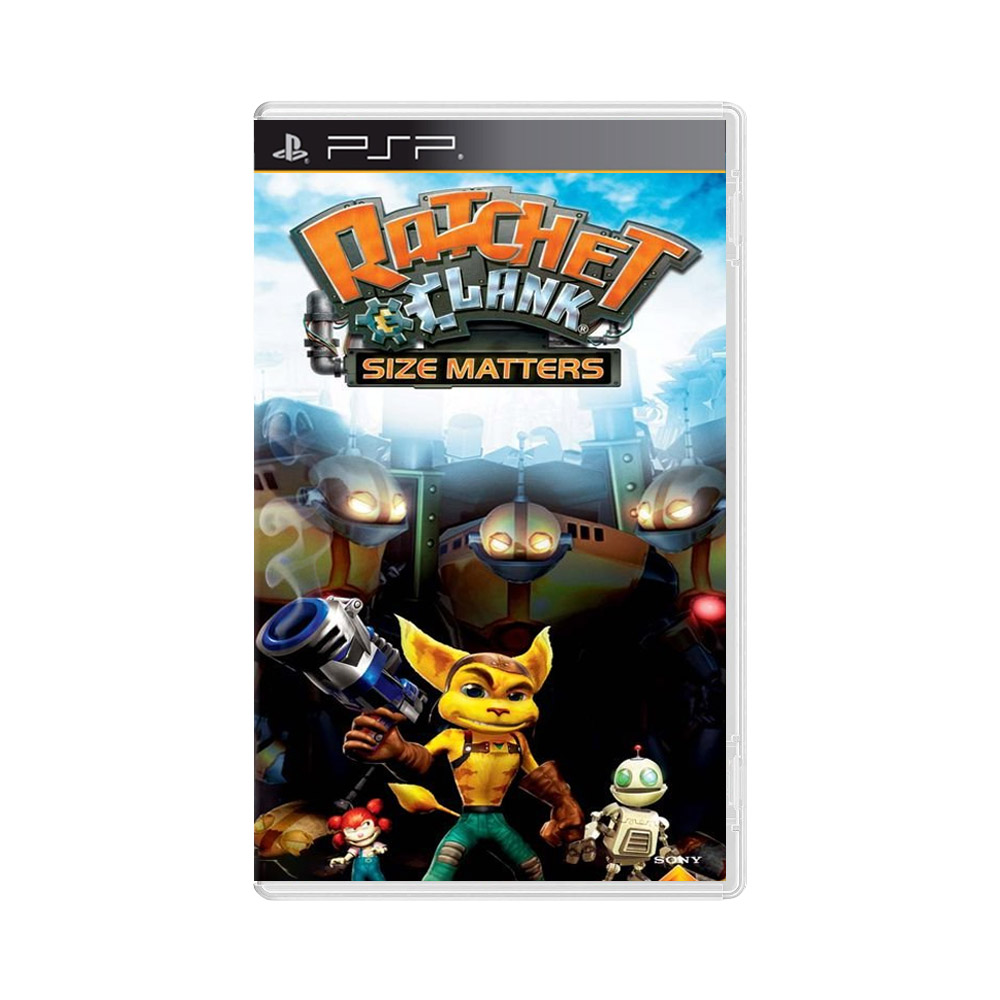 Jogo Ratchet n Clank: Size Matters - PSP