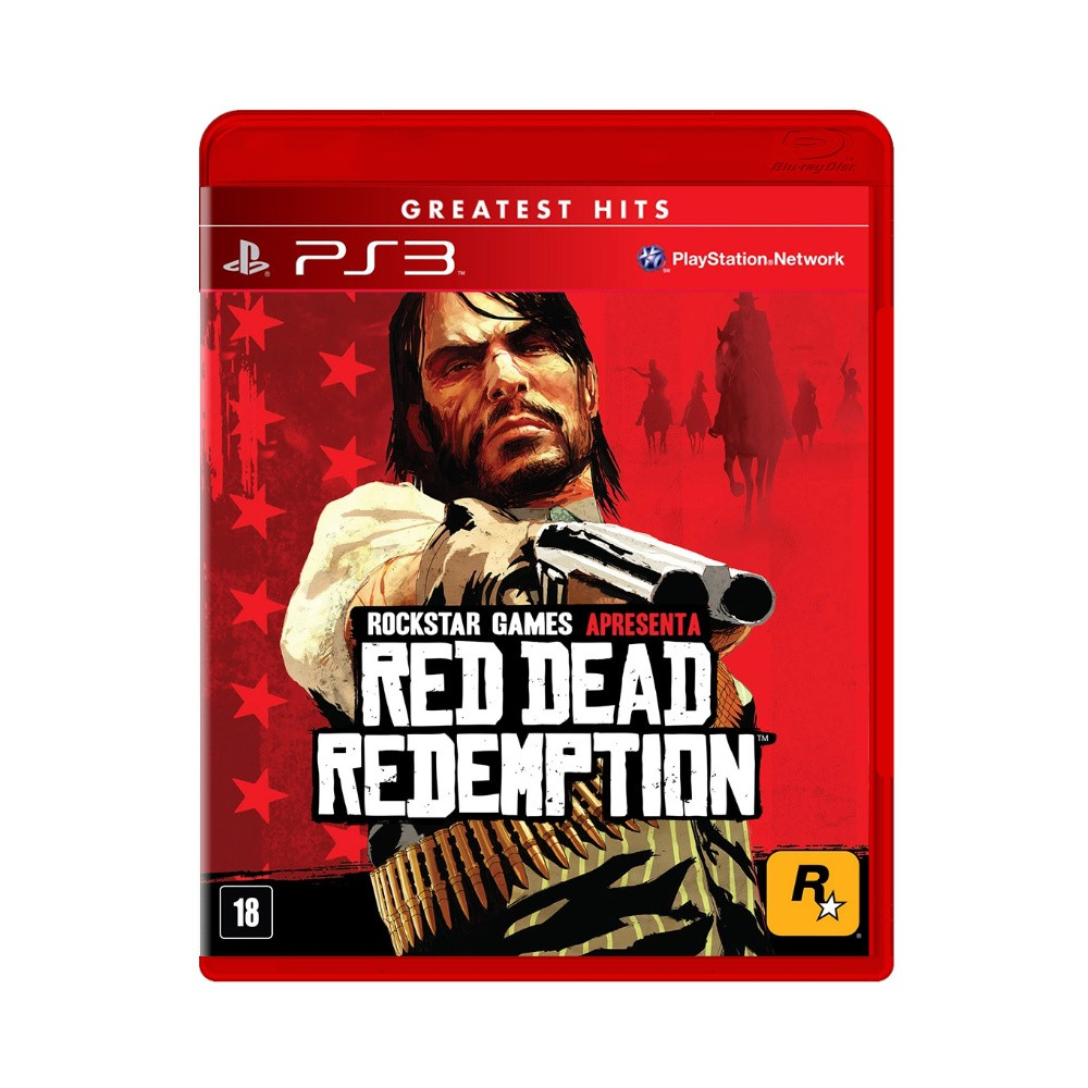 Jogo Red Dead Redemption Greatest Hits - PS3