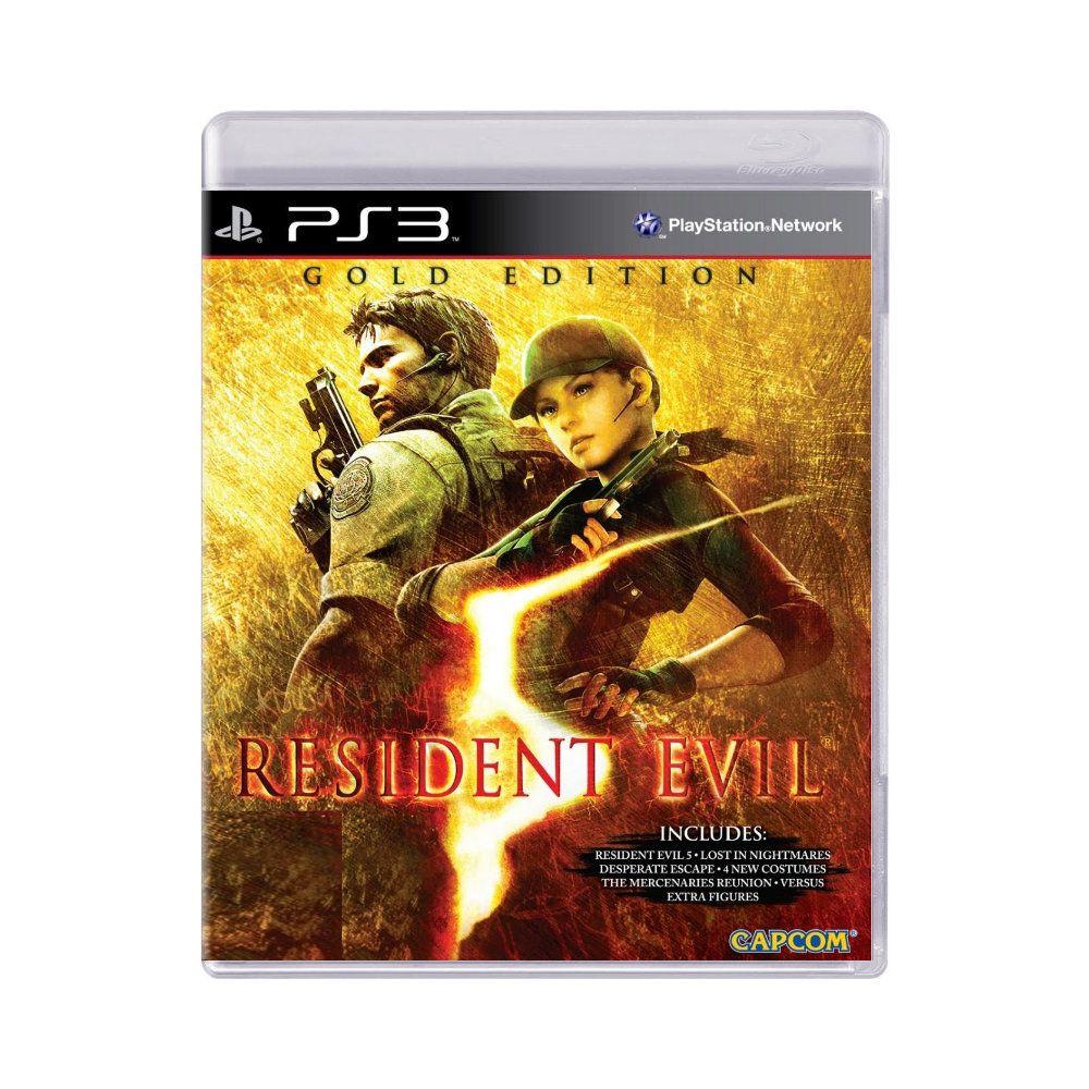 Jogo Resident Evil 5 Gold Edition - PS3