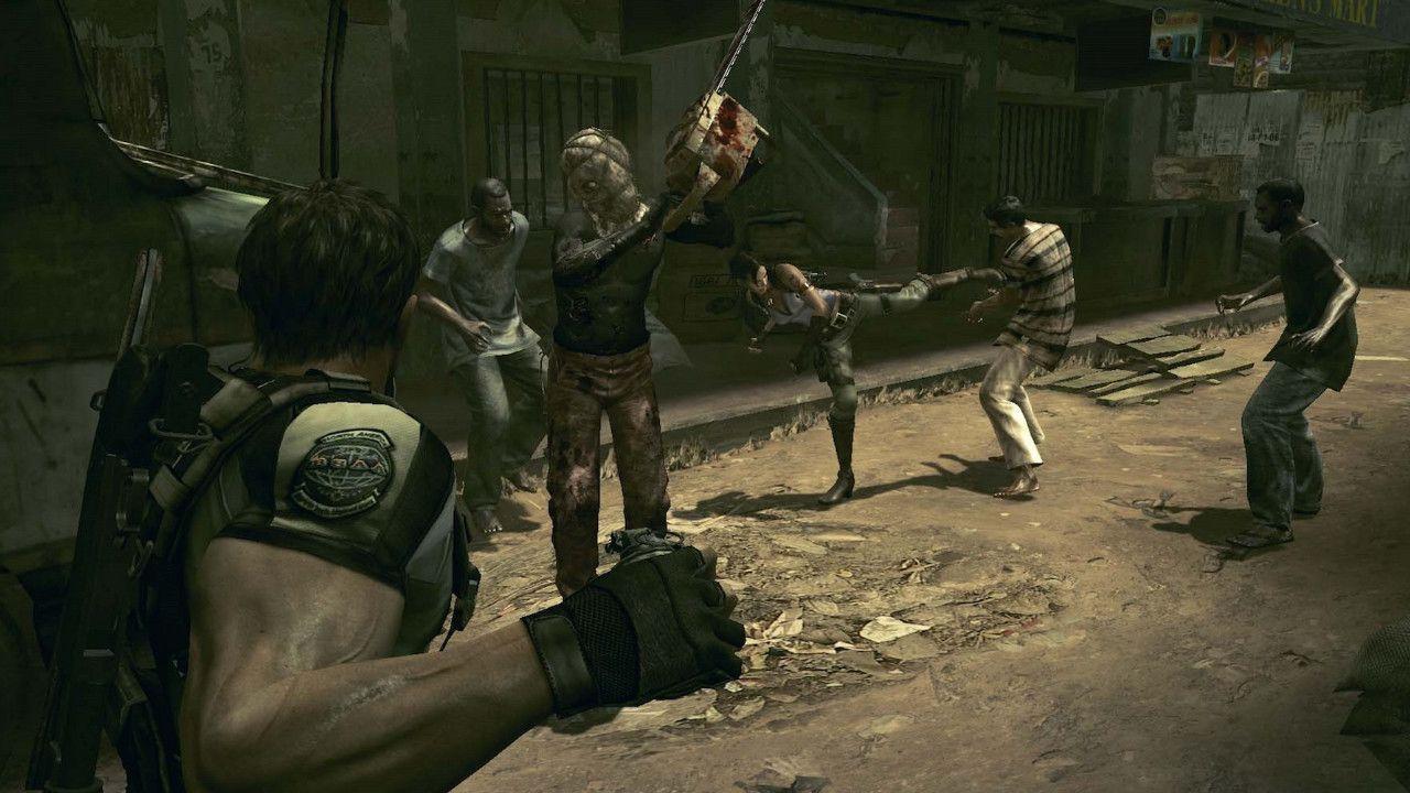Jogo Resident Evil 5 Platinium Hits - Xbox 360
