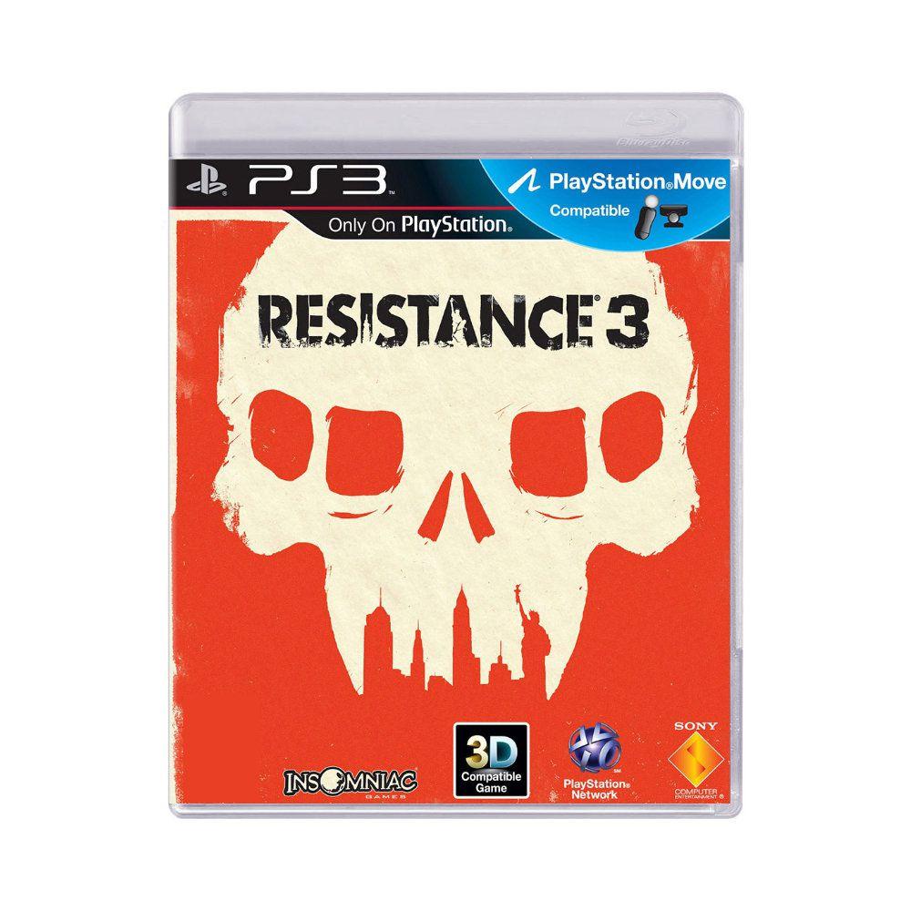 Jogo Resistance 3 - PS3