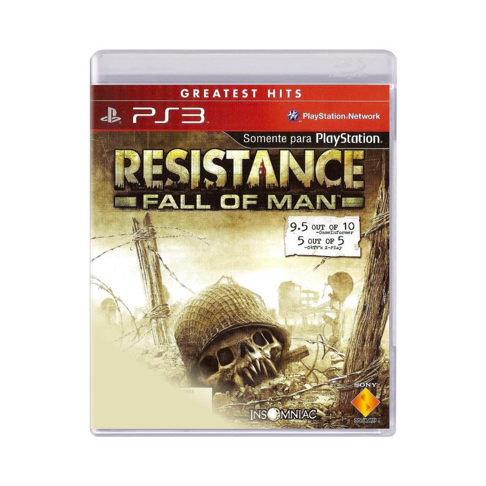 Jogo Resistance Fall of Man- PS3