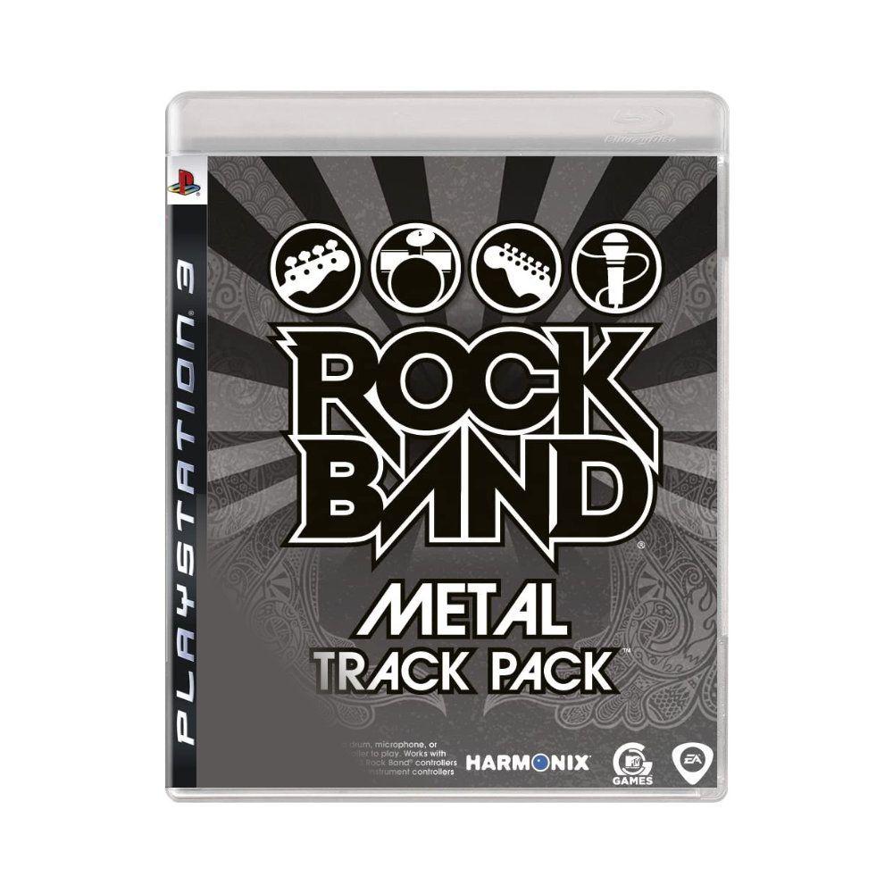 Jogo Rock Band Metal Track Pack - PS3