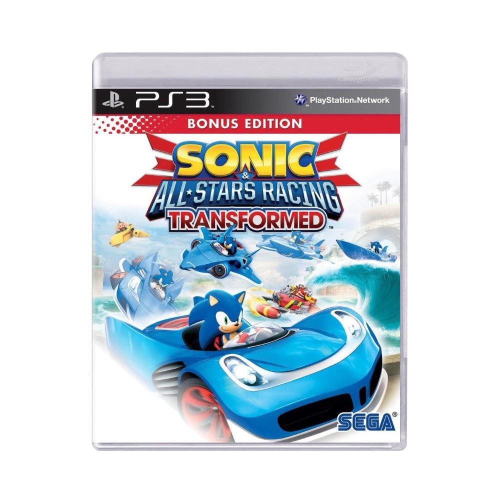 Jogo Sonic All-Stars Racing Transformed - PS3