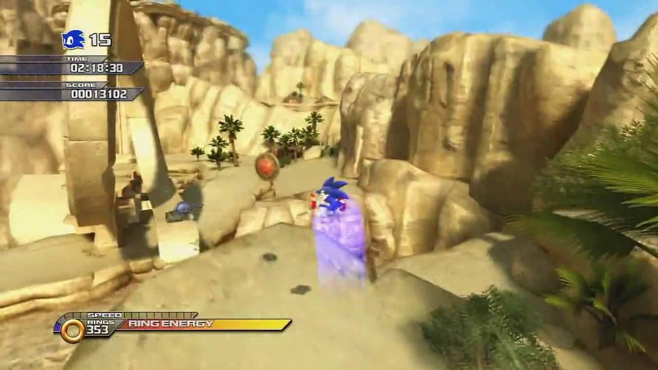 Jogo Sonic Unleashed Platinum Hits - Xbox 360