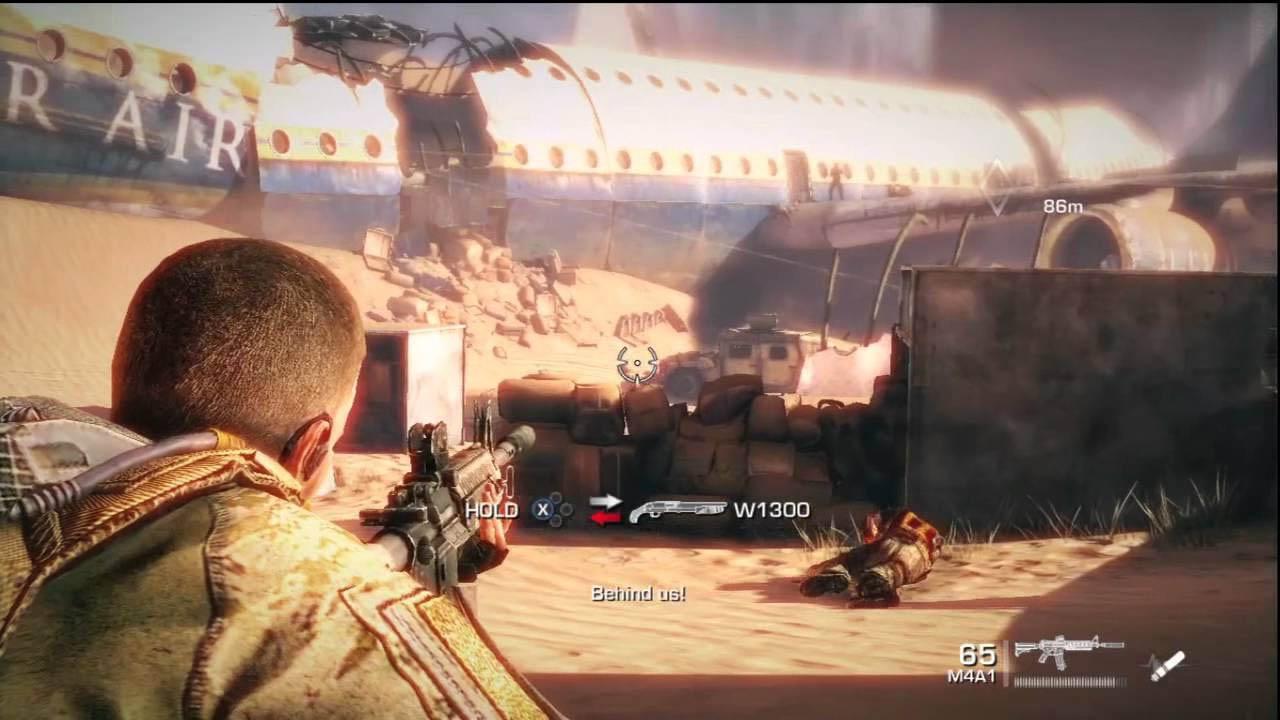 Jogo Spec Ops The Line - PS3