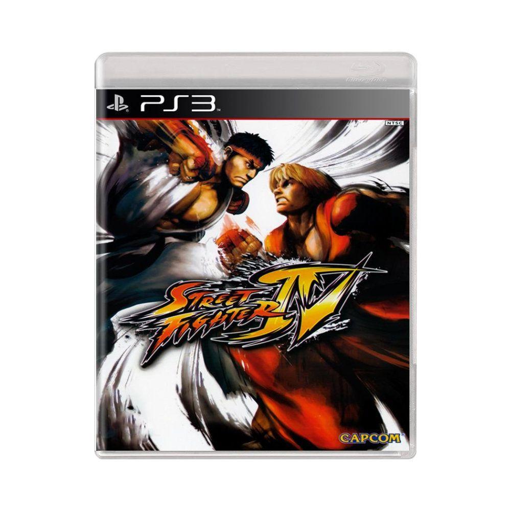 Jogo Street Fighter 4 - PS3
