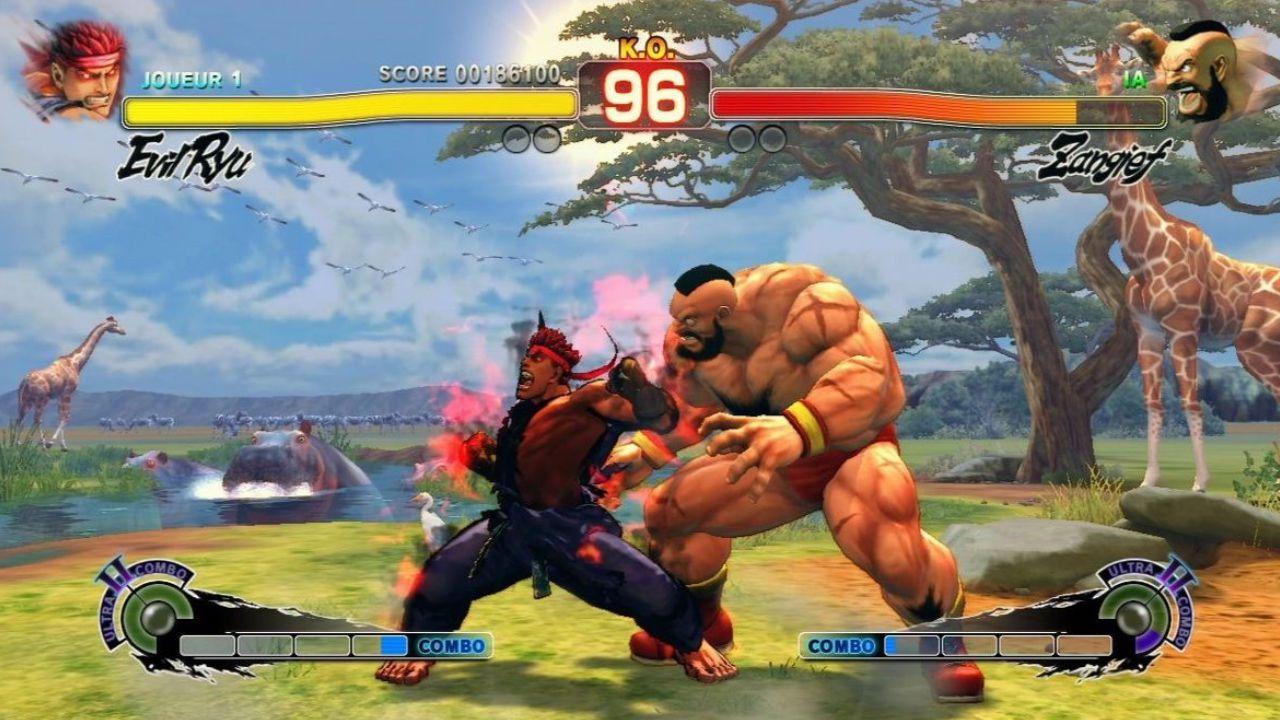 Jogo Street Fighter 4 Platinium Hits - Xbox 360