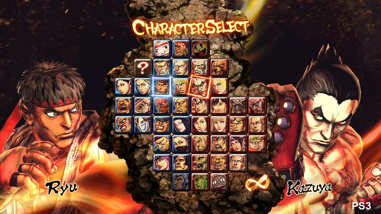 Jogo Street Fighter x Tekken - Xbox 360