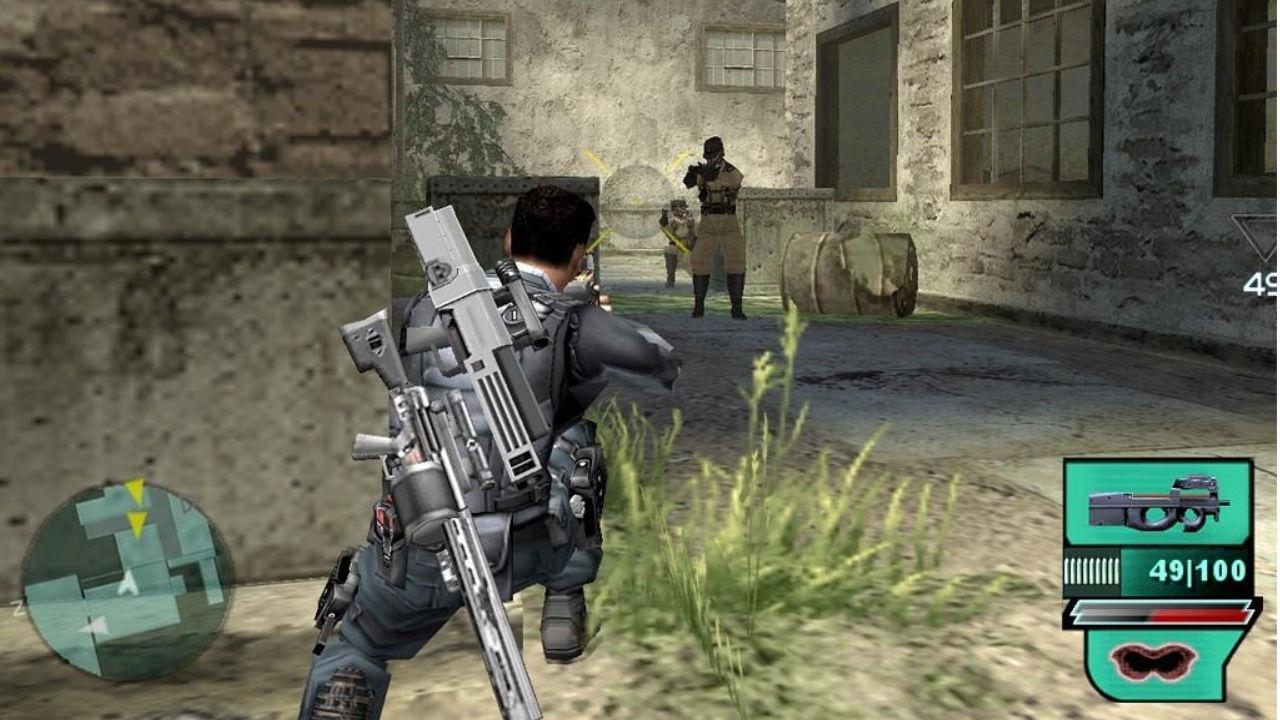 Jogo Syphonfilter: Dark Mirror - PS2