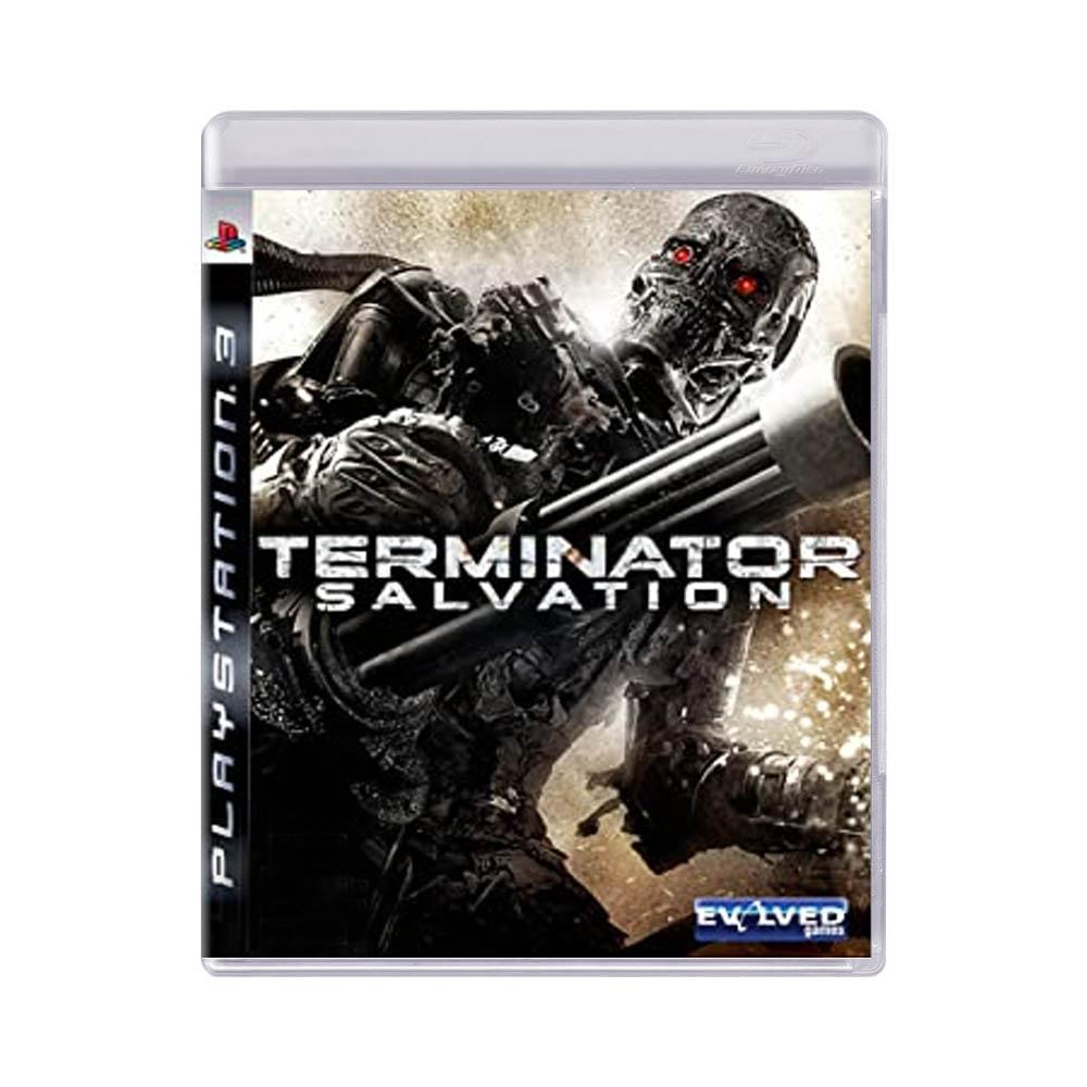 Jogo Terminator Salvation - PS3