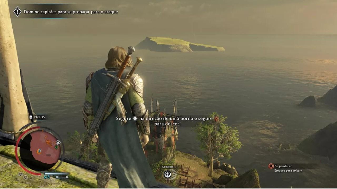Jogo Terra Média Sombras da Guerra - PS4