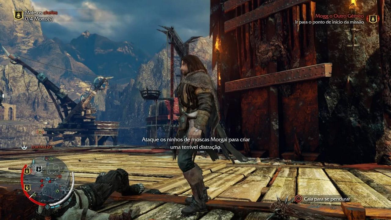 Jogo Terra-Média: Sombras de Mordor GOTY - PS4