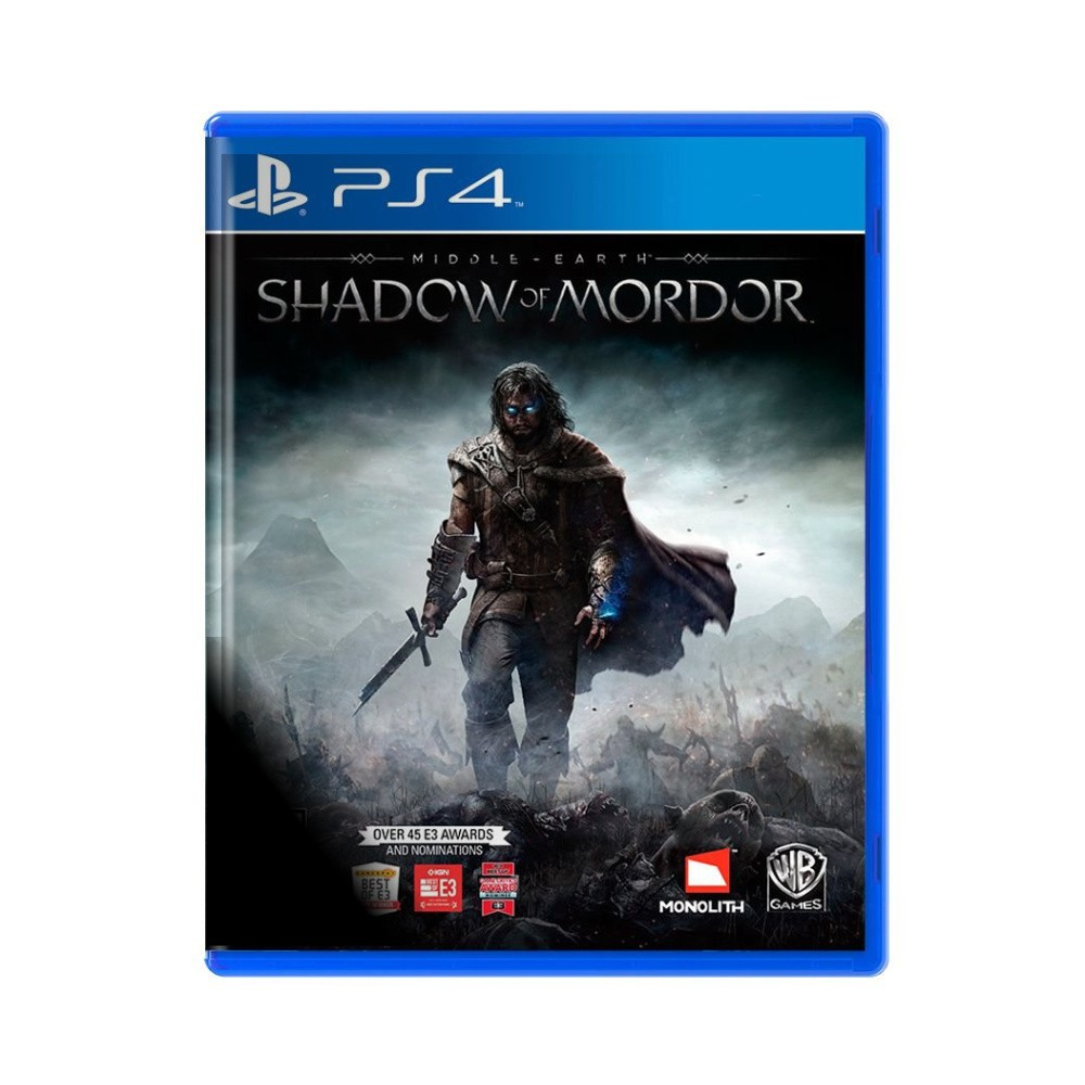 Jogo Terra Média Sombras de Mordor - PS4