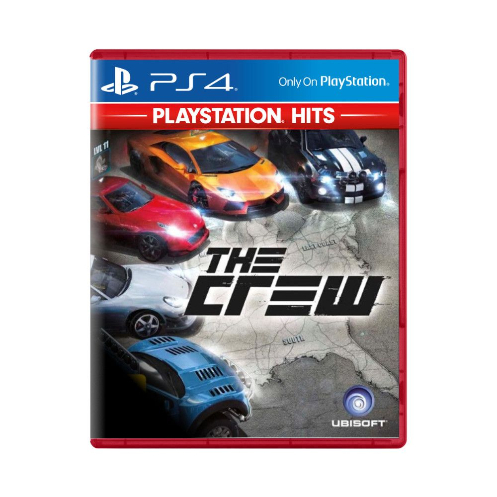 Jogo The Crew Playstation Hits - PS4