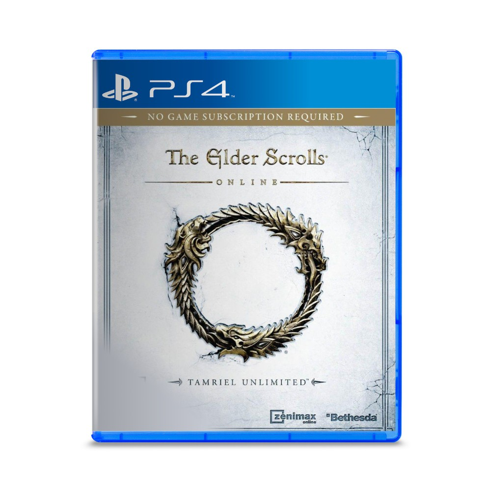Jogo The Elder Scrolls Online - PS4