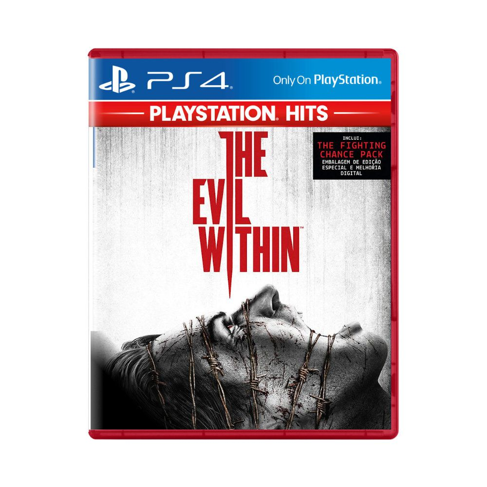 Jogo The Evil Within Playstation Hits - PS4