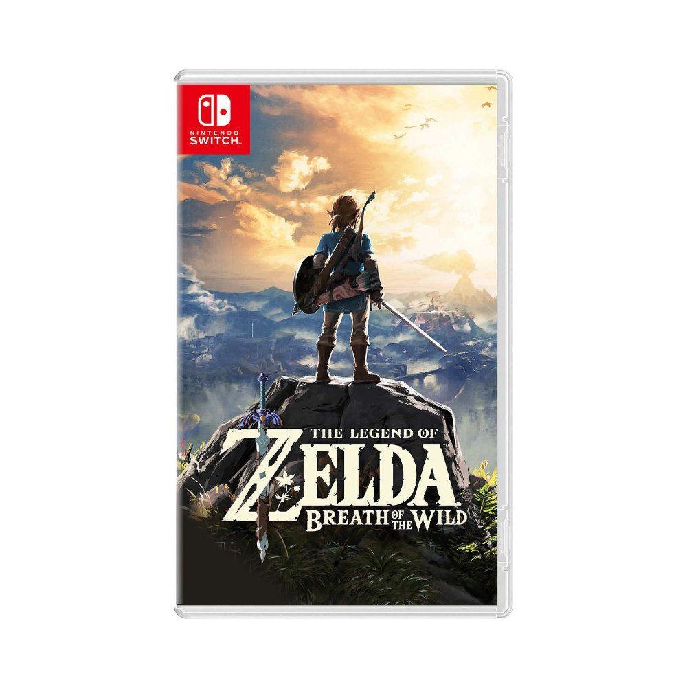 Jogo The Legend of Zelda Breath of the Wild - Switch