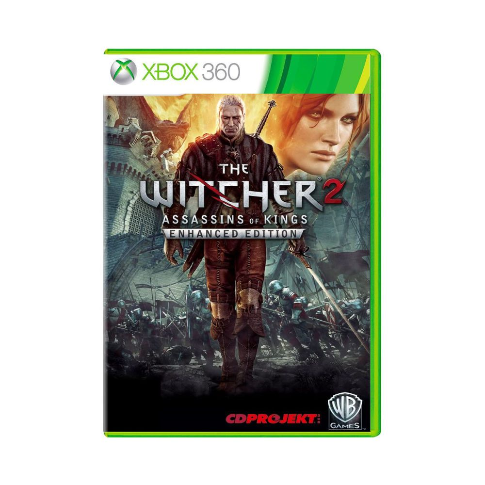Jogo The Witcher 2: Assassin's Of Kings Enhanced Edition - Xbox 360