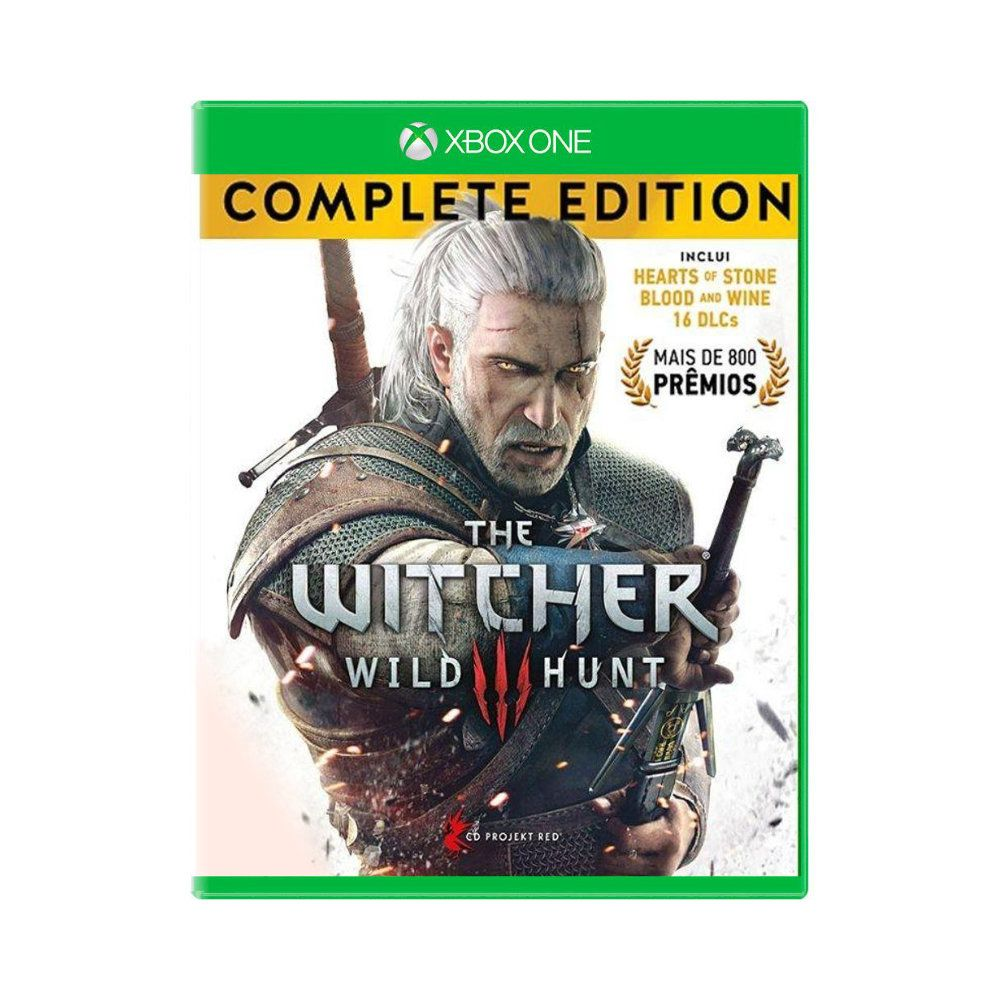 Jogo The Witcher 3 Wild Hunt Complete Edition - Xbox One