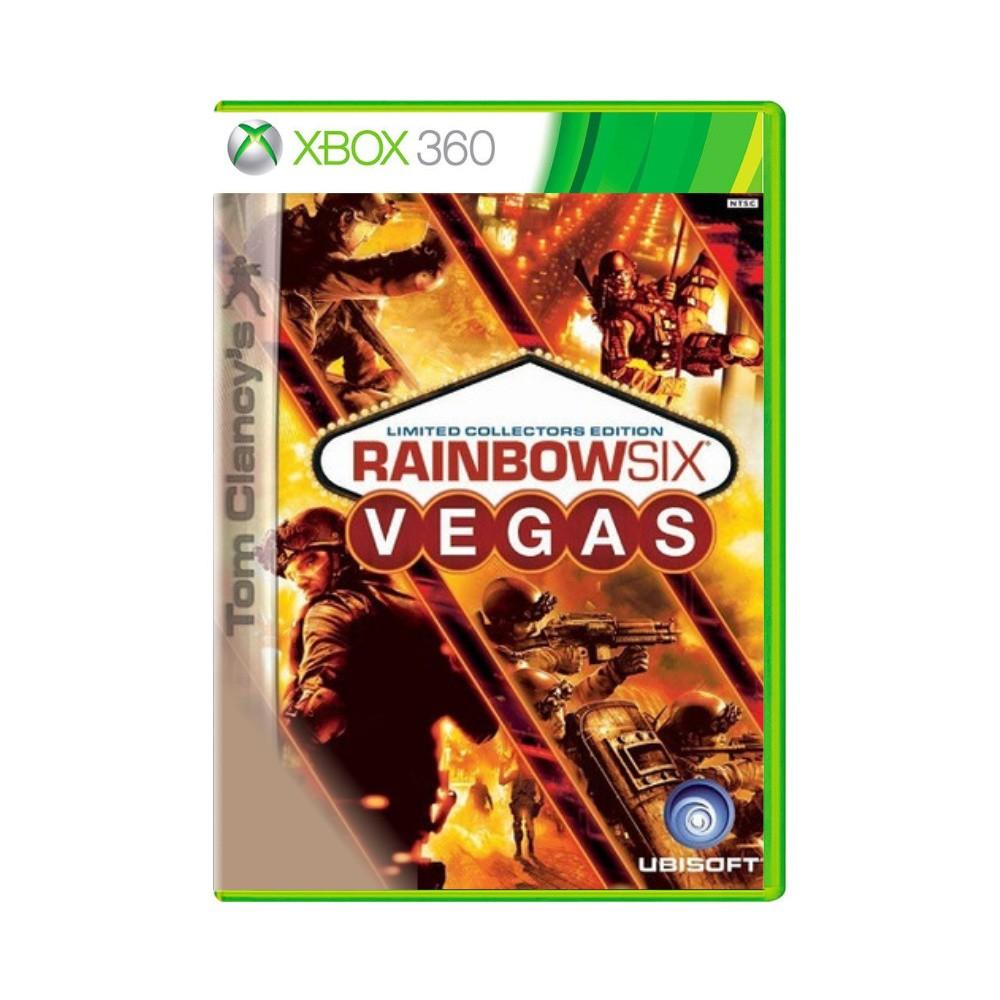 Jogo Tom Clancy's Rainbow Six: New Vegas Limited  Collectors Edition - Xbox 360