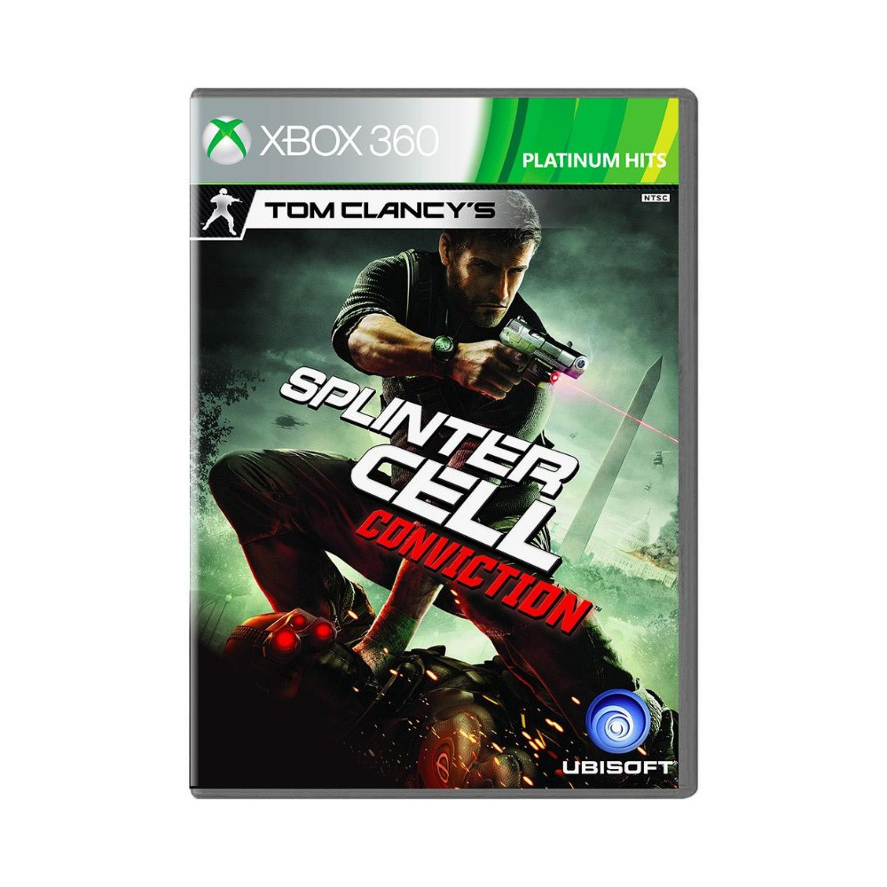 Jogo Tom Clancy's: Splinter Cell Conviction Platinum Hits - Xbox 360