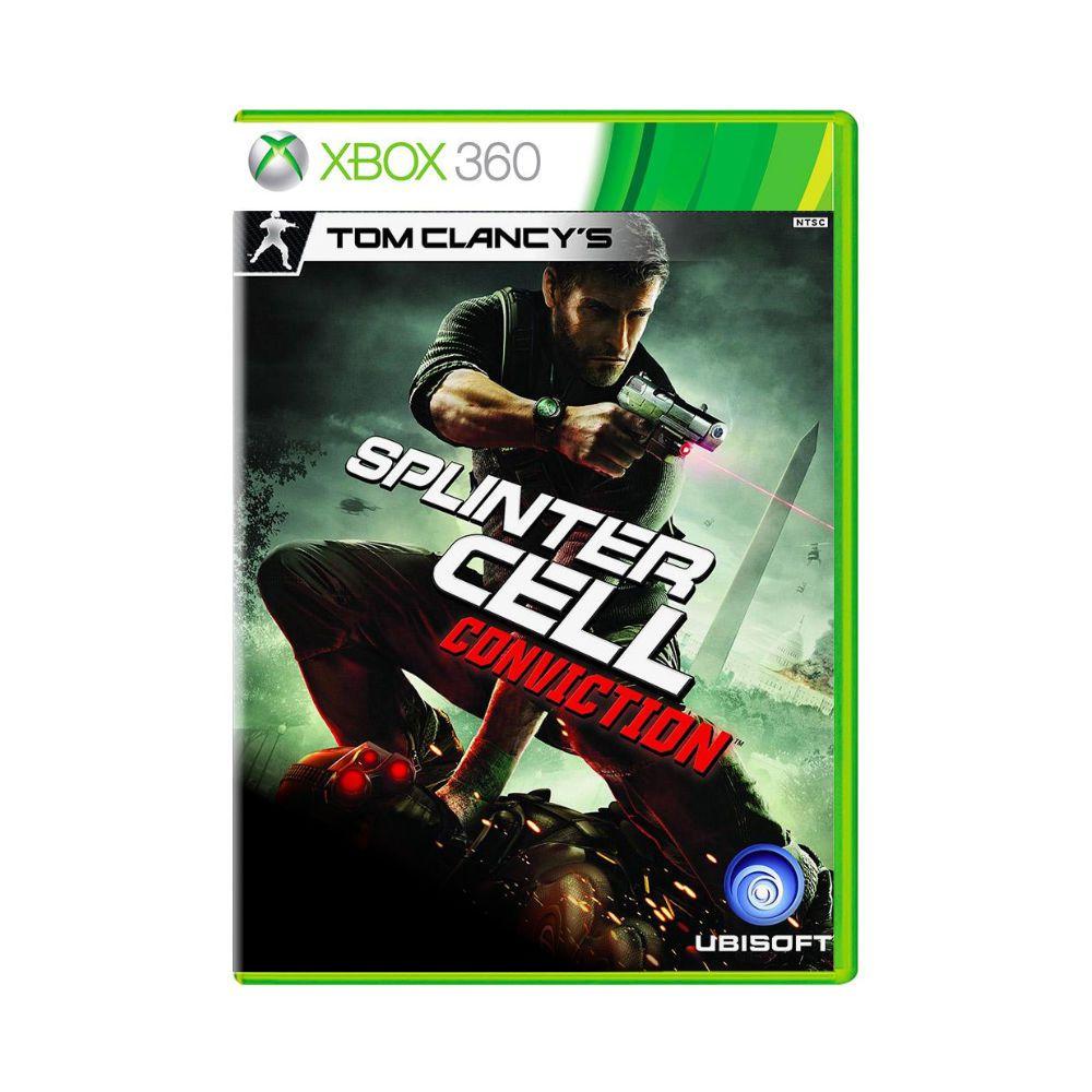 Jogo Tom Clancy's: Splinter Cell Conviction- Xbox 360